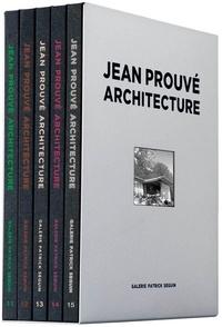 Collectif - Jean Prouvé architecture - Coffret 3, 5 volumes.