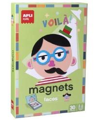 Collectif - Jeu magnétique portraits.