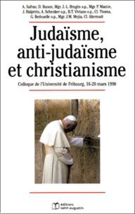 Judaïsme, anti-judaïsme et christianisme. Colloque de lUniversité de Fribourg, 16-20 mars 1998.pdf