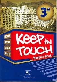 Collectif - Keep in touch 3eme student's book senegal.