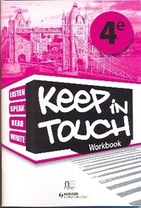 Collectif - Keep in touch 4e workbook.