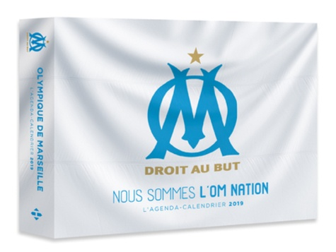 Collectif - L'agenda-calendrier Olympique de Marseille.