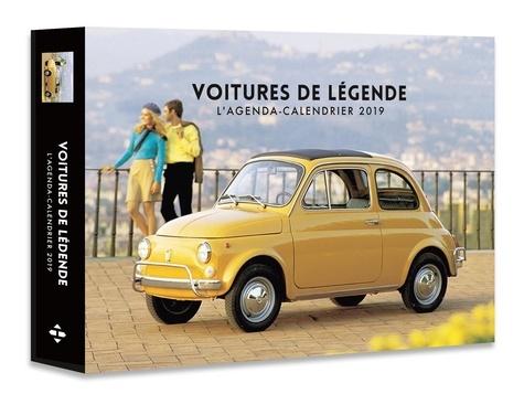 Collectif - L'agenda-calendrier voitures de légende.