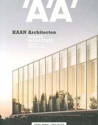 Collectif - L'Architecture d'Aujourd'hui HS Projects KAAN Architecten - février 2020.
