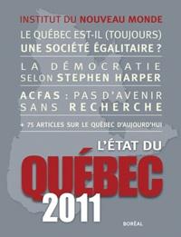 Collectif - L'Etat du Québec 2011.