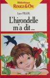 Collectif - L'Hirondelle m'a dit.