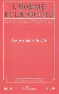 Lhomme et la société N°139 2001/1 : Les psy dans la cité.pdf