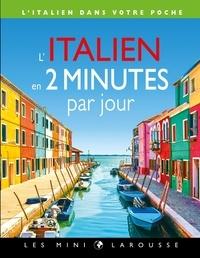 Téléchargement ebook zip L'italien en 2 minutes par jour en francais MOBI iBook RTF 9782035988218 par