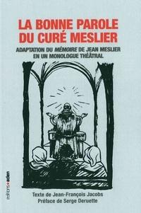 Collectif - La bonne parole du curé Meslier.