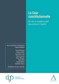 Histoiresdenlire.be La cour constitutionnelle - De l'art de modeler le droit pour préserver l'égalité Image