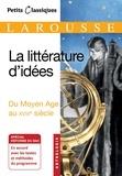 Collectif - La littérature d'idées.