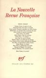Collectif - La Nouvelle Revue Française N°223 juillet 1971 : Brice Parain.
