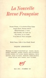 Collectif - La Nouvelle Revue Française N°257, mai 1974 : Jacques Lemarchand.