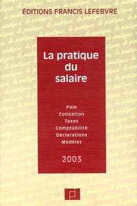 La pratique du salaire. Edition 2003.pdf