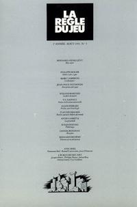 Collectif - La règle du jeu n°05.