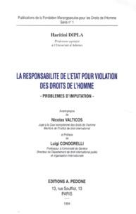 Goodtastepolice.fr LA RESPONSABILITE DE L'ETAT POUR VIOLATION DES DROITS DE L'HOMME. Problèmes d'imputation Image