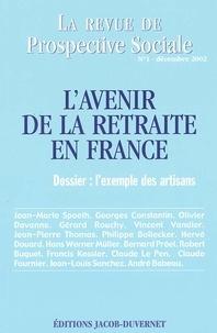 La revue de Prospective Sociale N° 1 Dècembre 2002 : Lavenir de la retraite en France : lexemple des artisans.pdf