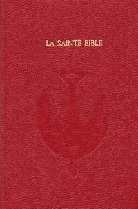 Openwetlab.it La Sainte Bible. Nouvelle version Segond révisée 1978, édition skivertex rouge Image