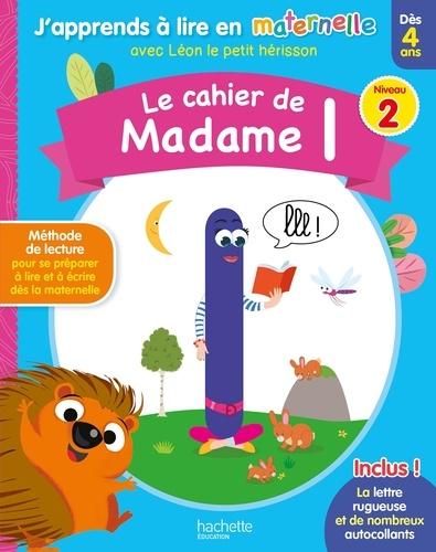 Le Cahier De Madame L Niveau 2 Grand Format