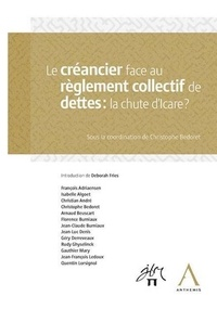 Le créancier face au réglement collectif de dettes : la chute d'Icare -  pdf epub