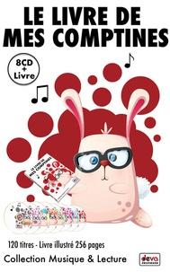 Collectif - Le livre de mes comptines. 8 CD audio