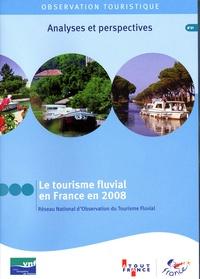 Collectif - Le tourisme fluvial en france en 2008 (cd-rom).