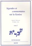 Collectif - Légendes et commentaires sur la Genèse - Tome 1, édition bilingue.