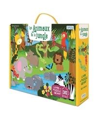 Collectif - Les animaux de la jungle - Puzzle géant.
