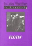 Collectif - LES CAHIERS PHILOSOPHIQUES DE STRASBOURG N° 8 ETE 1999 : PLOTIN.