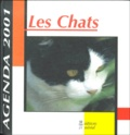 Collectif - Les chats. - Agenda 2001.
