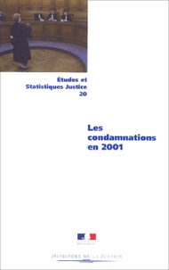 Collectif - Les condamnations en 2001.