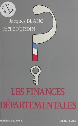 Les finances départementales