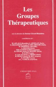 Collectif - Les Groupes thérapeutiques.