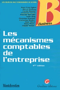 Histoiresdenlire.be Les mécanismes comptables de l'entreprise. 4ème édition Image