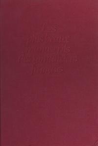 Collectif et Annie Angremy - Les plus beaux manuscrits des romanciers français.
