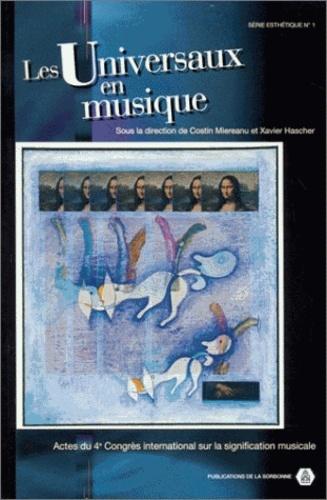 Collectif - Les universaux en musique.