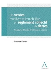 Les ventes mobilière et immobilière en réglement collectif de dettes -  pdf epub