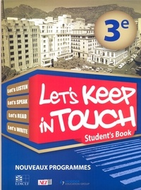 Collectif - Let's keep in touch 3e student's book rci.