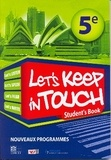 Collectif - Let's keep in touch 5e student's book.
