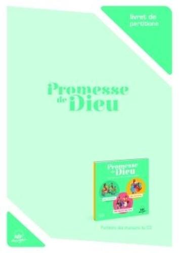 Collectif - Livret de partitons - promesse de dieu - 42 chants pour vivre l'annee liturgique.