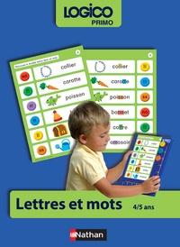 Collectif - Logico - Lettres et mots GS.