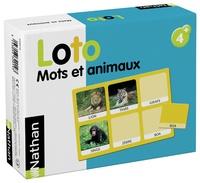Collectif - Loto Mots et animaux.
