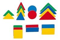 Collectif - Magnets formes géométriques.