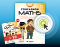 Collectif - Math CM1 Compagnon math - Lot de 10 manuels.