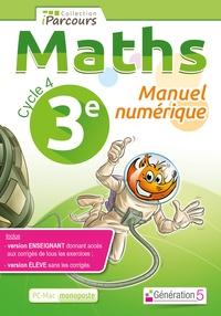 Ucareoutplacement.be Maths 3e Cycle 4 iParcours - Manuel numérique, DVD enseignant monoposte Image