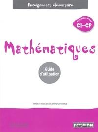 Collectif - Maths Sénégal CI-CP Guide Pédagogique unique.