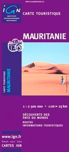 Mauritanie. 1/2 500 000