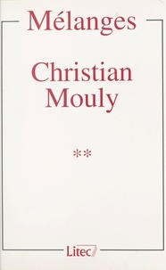 Collectif - Mélanges Christian Mouly (2).