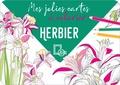 Collectif - Mes jolies cartes à colorier - Herbier.