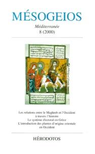 Collectif - Mésogeios n° 8 / 2000.